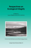 Perspectives on Ecological Integrity ebook