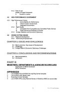 Monitoring and Performance Evaluation Report for Federal Ministries, Departments and Agencies for the Year ...