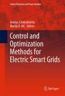 Pdf Control and Optimization Methods for Electric Smart Grids