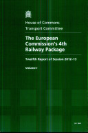 The European Commission s 4th Railway Package