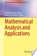 Mathematical Analysis and Applications