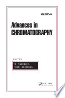 Advances In Chromatography Book PDF