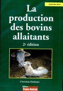 La production des bovins allaitants