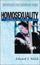 Homosexuality Book PDF