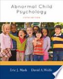 Bundle: Abnormal Psychology : an Integrative Approach + Abnormal Child Psychology