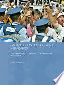 Japan s Contested War Memories