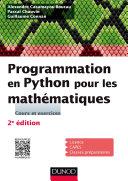 Pdf Programmation en Python pour les mathématiques - 2e éd. Telecharger