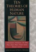 Ten Theories of Human Nature Book