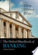 The Oxford Handbook of Banking Book