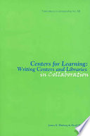 Centers for Learning Book