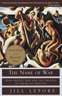 The Name of War Book