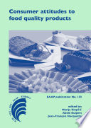 Consumer attitudes to food quality products Book