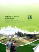 Impacts of Urban agriculture Book