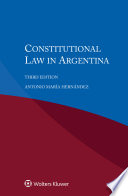 Constitutional Law In Argentina