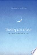 Thinking Like a Planet