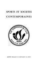 Sports et sociétés contemporaines