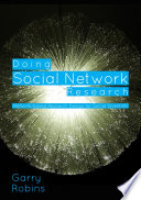 Doing Social Network Research Book