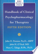 Handbook Of Clinical Psychopharmacology For Therapists Book PDF