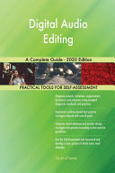 Digital Audio Editing A Complete Guide 2020 Edition