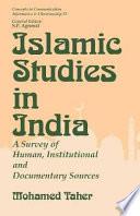 Islamic Studies In India