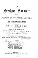 A Farnham Souvenir