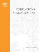 Operations Management: Policy, Practice and Performance Improvement Pdf/ePub eBook