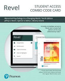 Revel for Abnormal Psychology in a Changing World    Combo Access Card