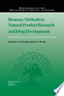 Bioassay Methods In Natural Product Research And Drug Development Book PDF