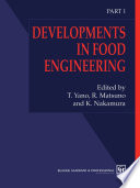 Developments in Food Engineering