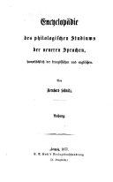 Systematisches Verzeichnis