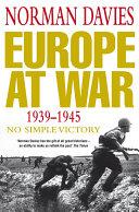 Europe at War 1939 1945