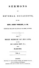 Pdf Sermons on several occasions, with a brief memoir by S. Drew