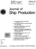 Journal Of Ship Production Book PDF