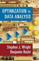 Optimization for Data Analysis