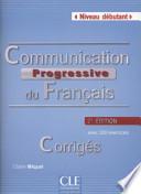 Communication progressive du français