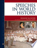 Speeches in World History Book