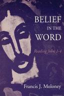 Belief In The Word