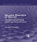 Nervous Disorders of Women (Psychology Revivals) ebook