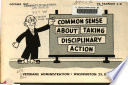 Common Sense about Taking Disciplinary Action