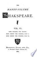 The Handy volume Shakspeare