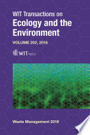 Waste Management And The Environment Viii Book PDF