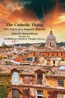 The Catholic Thing
