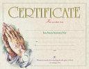 Certificate Of Honor Package Of 6