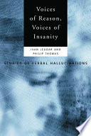 Voices of Reason  Voices of Insanity Book