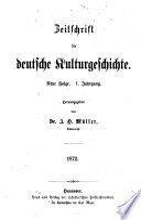 Zeitschrift für Kulturgeschichte