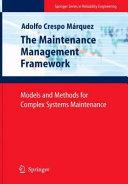 The Maintenance Management Framework Pdf/ePub eBook