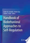 Handbook Of Biobehavioral Approaches To Self Regulation