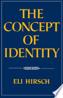 The Concept of Identity