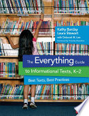 The Everything Guide To Informational Texts K 2