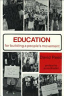 Education for Building a People s Movement Book